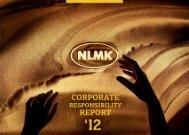 CSR report 2012 - NLMK Group
