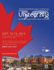 Register now to save! - UNITECR 2013