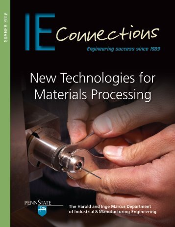 New Technologies for Materials Processing - Industrial and ...