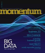 business 3.0 - UQ Business School Momentum - UQBS.com