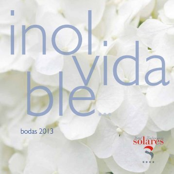 bodas 2013 - Castilla Termal Hoteles