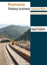 Romania – Railway business opportunities ... - Catalog Feroviar