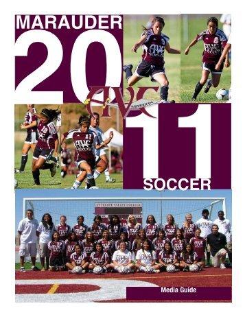 Soccer Media Guide - Antelope Valley College Marauder Athletics