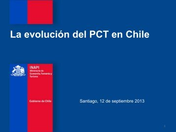 Seminario PCT - Inapi Proyecta