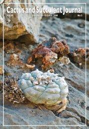 Part 2 - Cactus Conservation Institute