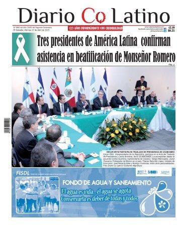 Edición 17 de Abril de 2015