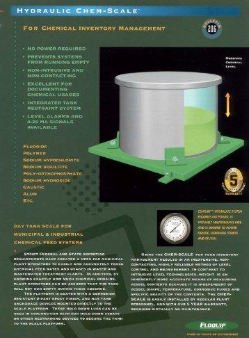 """HYDRAULIC CHEM-SCALE"""" - Global Treat, Inc."""