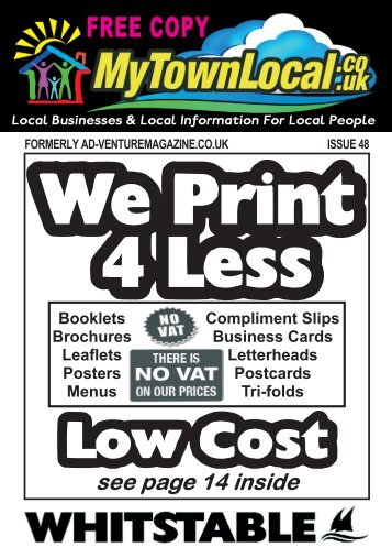 Whitstable Free Local Magazine