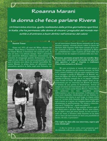 Intervista alla giornalista Rosanna Marani
