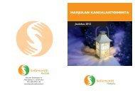 HARJULAN KANSALAISTOIMINTA Joulukuu 2012