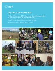 Stories From the Field - BSR