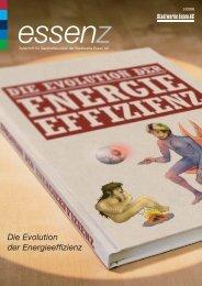 Die Evolution der Energieeffizienz - Stadtwerke Essen AG
