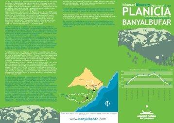 PLANÍCIA BANYALBUFAR ItinerariItinerary - Associació cultural ...