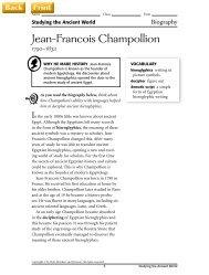 Jean-Francois Champollion - J-blanchard.org
