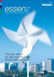 Frischer Wind für den kommunalen Wirtschaftskreislauf - Stadtwerke ...