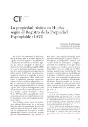 La propiedad rústica en Huelva según el Registro - Catastro