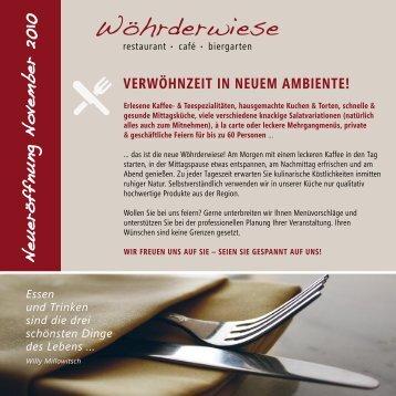 Neueröffnung November 2010 - Rehazentrum Wöhrderwiese