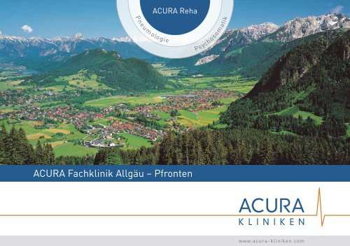 ACURA Fachklinik Allgäu – Pfronten - ACURA SIGEL Klinik