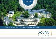 ACURA Fachklinik Falkenburg – Bad Herrenalb - ACURA SIGEL Klinik
