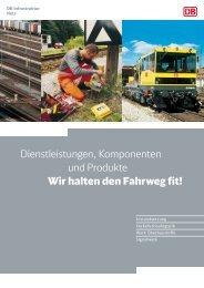Dienstleistungen, Komponenten und Produkte Wir halten den ...