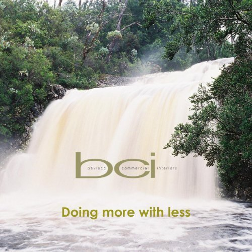Environmental Brochure - Bevisco Commercial Interiors