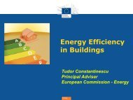 EU Policies for improving the energy performance of buildings - BPIE