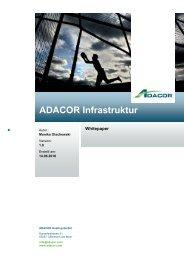 ADACOR Infrastruktur - ADACOR Hosting GmbH