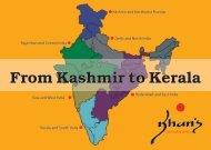 From Kashmir to Kerala - Khan's