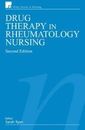 Drug Therapy in Rheumatology Nursing