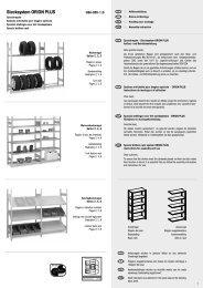 Stecksystem ORION PLUS