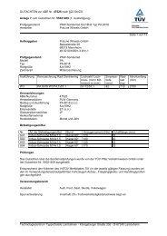 GUTACHTEN zur ABE Nr. 47525 nach §22 StVZO Anlage 7 zum ...