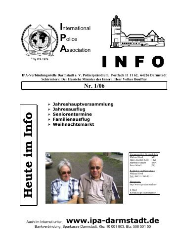 I N F O - IPA Darmstadt