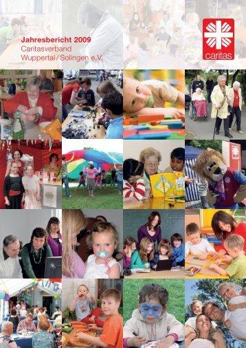 Jahresbericht 2009 Caritasverband Wuppertal / Solingen e.v.