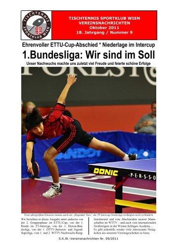201109 - Tischtennis Sportklub Wien