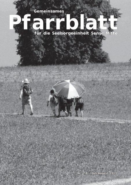 Pfarrblatt Nr. 7/8 - Pfarrei Heitenried