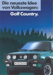 D, 03/1990 - VW Golf Country - Fansite