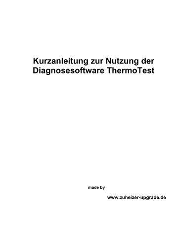 Anleitung SW ThermoTest - Zuheizer-upgrade.de