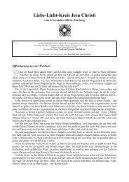 Druckversion (PDF) - Aus Liebe zu Gott