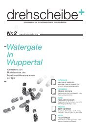 Watergate in Wuppertal Nr. 2 - Drehscheibe
