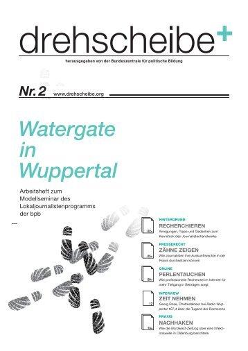 Watergate in Wuppertal Nr. 2 - Drehscheibe