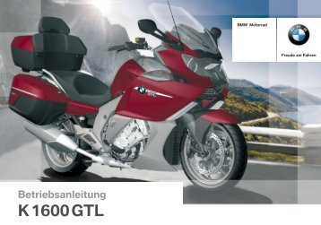 Bedienungsanleitung - K 1600 GTL - BMW-K-Forum.de