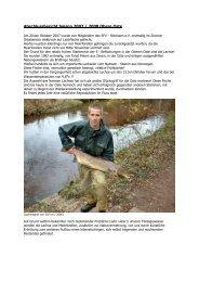 Abschlussbericht Saison 2007 - Wanderfische
