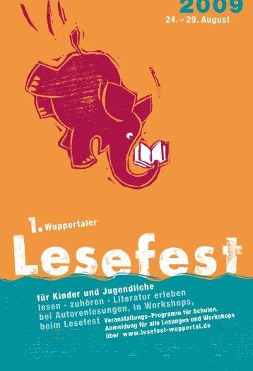 Download als PDF - Lesefest Wuppertal