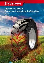 Technische Daten Firestone Landwirtschaftsreifen