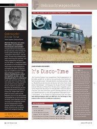 It's Disco-Time - OFF ROAD :: Das 4x4 Magazin für die Freiheit auf ...