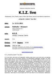 K.I.Z. live - Krasscore
