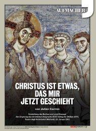 Christus ist etwas, das mir jetzt gesChieht - Gemeinschaft und ...