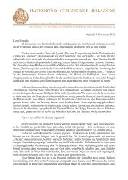 pdf deutsch - Gemeinschaft und Befreiung Österreich
