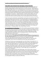 Ostern 2007 - Die Auswirkungen der Auferstehung - FeG Wienhausen