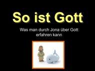 So ist Gott - FeG Wienhausen